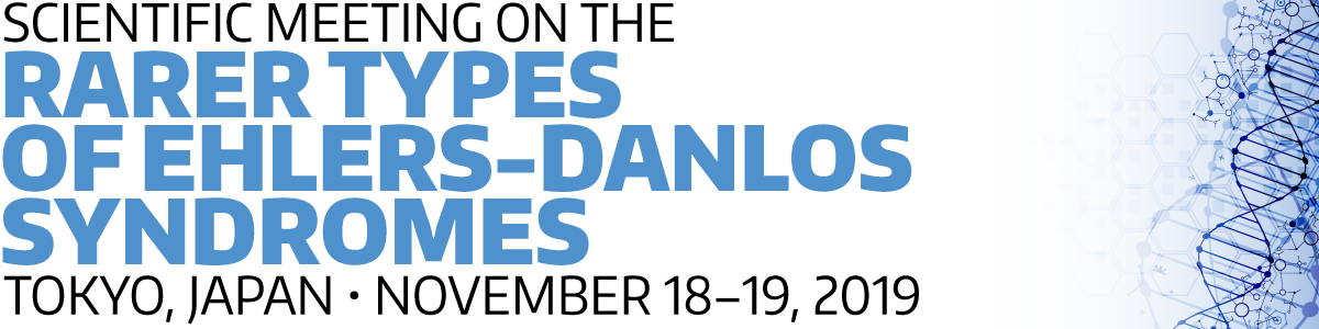 Scientific meeting on the rarer types of Ehlers-Danlos Syndromes